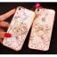 (025-1101)เคสมือถือไอโฟน case iphone 5/5s/SE เคสนิ่มซิลิโคนใสลายหรูติดคริสตัล พร้อมแหวนเพชรวางโทรศัพท์ thumbnail 1