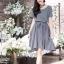 Yoko Dress Short Sleeves เดรสทรงปล่อย สไตล์ญี่ปุ่น thumbnail 1