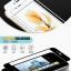 (039-085)ฟิล์มกระจก iPhone 6 4.7นิ้ว รุ่นปรับปรุงนิรภัยเมมเบรนกันรอยขูดขีดกันน้ำกันรอยนิ้วมือ 9H HD 2.5D ขอบโค้ง thumbnail 3