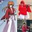 รหัส rorouni ชุดคอสเพลย์การ์ตูนซามูไรพเนจร รุโรนิ เคนซิง สีขาว+แดง thumbnail 1