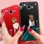 (587-013)เคสมือถือซัมซุง Case Samsung A9 Pro เคสนิ่มแฟชั่นลายผู้หญิงขอบเพชร thumbnail 1
