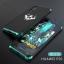 (724-001)เคสโทรศัพท์มือถือ Case Huawei P20 เคสโลหะแฟชั่นขอบสีเทห์ๆ thumbnail 4