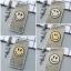 (025-1016)เคสมือถือ Case OPPO R9s Plus/R9s Pro เคสนิ่มพื้นหลังแววกึ่งกระจก ลายอีโมติคอน (Emoticon) thumbnail 1