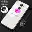 (025-1190)เคสโทรศัพท์มือถือหัวเว่ย Case Huawei Y7prime เคสนิ่มซิลิโคนพื้นหลังกระจกนิรภัยบลูเรย์ลายผู้หญิงสวย thumbnail 2