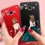 (587-012)เคสมือถือซัมซุง Case Samsung A7 เคสนิ่มแฟชั่นลายผู้หญิงขอบเพชร thumbnail 1