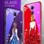 (025-1190)เคสโทรศัพท์มือถือหัวเว่ย Case Huawei Y7prime เคสนิ่มซิลิโคนพื้นหลังกระจกนิรภัยบลูเรย์ลายผู้หญิงสวย thumbnail 1