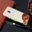 (025-1169)เคสมือถือซัมซุง Case Samsung J3 Pro 2017 เคสกรอบบัมเปอร์โลหะฝาหลังอะคริลิคแววกึ่งกระจก thumbnail 3