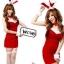 รหัส bunny girl1 สีแดง ชุดคอสเพลย์เซ็กซี่บันนี่ thumbnail 1