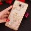 (025-1047)เคสมือถือซัมซุง Case Samsung Galaxy J5 2016 เคสนิ่มซิลิโคนใสลายหรูประดับคริสตัล พร้อมแหวนเพชรตั้งโทรศัพท์ thumbnail 7
