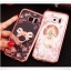 (025-1150)เคสมือถือซัมซุง Case Samsung S7 Edge เคสนิ่มซิลิโคนใสลายหรูประดับคริสตัล พร้อมแหวนเพชรมือถือตั้งโทรศัพท์ thumbnail 2