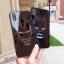 (633-008)เคสมือถือไอโฟน Case iPhone X เคสนิ่มพื้นหลังกระจกลายไอรอนแมน แบทแมน thumbnail 1