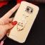 (025-1177)เคสมือถือซัมซุง Case Samsung S6 เคสนิ่มพื้นหลังแววกึ่งกระจก เลนส์กล้องขอบเพชร พร้อมแหวนเพชรตั้งโทรศัพท์และสายคล้องคอถอดแยกสายได้ thumbnail 23