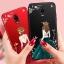 (587-014)เคสมือถือซัมซุง Case Samsung J7+/Plus/C8 เคสนิ่มแฟชั่นลายผู้หญิงขอบเพชร thumbnail 1