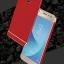 (025-1170)เคสมือถือซัมซุง Case Samsung J3 Pro 2017 เคสกรอบบัมเปอร์โลหะฝาหลังอะคริลิคแววกึ่งกระจก thumbnail 1