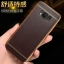 (025-1143)เคสมือถือ Case Samsung S8 Plus/ S8+ เคสนิ่ม TPU ขอบทองแววพื้นหลังลายหนัง thumbnail 1