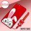 (694-014)เคสมือถือ Case OPPO R9s Plus/R9s Pro เคสนิ่มซิลิโคนสีแดงลายการ์ตูน thumbnail 6