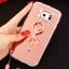 (025-1177)เคสมือถือซัมซุง Case Samsung S6 เคสนิ่มพื้นหลังแววกึ่งกระจก เลนส์กล้องขอบเพชร พร้อมแหวนเพชรตั้งโทรศัพท์และสายคล้องคอถอดแยกสายได้ thumbnail 7
