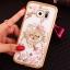 (025-1150)เคสมือถือซัมซุง Case Samsung S7 Edge เคสนิ่มซิลิโคนใสลายหรูประดับคริสตัล พร้อมแหวนเพชรมือถือตั้งโทรศัพท์ thumbnail 16