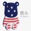 (013-024)เคสมือถือ Case OPPO F1 Plus (R9) เคสนิ่ม 3D ตัวการ์ตูนลายธงชาติ thumbnail 8