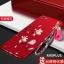 (694-016)เคสมือถือ Case OPPO R9s Plus/R9s Pro เคสนิ่มคลุมเครื่องสีแดงลายดอกไม้แฟชั่นสวยๆ พร้อมสายคล้องมือลายดอกไม้ thumbnail 7