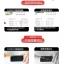 (039-049)ฟิล์มกระจก Huawei P7 รุ่นปรับปรุงนิรภัยเมมเบรนกันรอยขูดขีดกันน้ำกันรอยนิ้วมือ 9H HD 2.5D ขอบโค้ง thumbnail 7