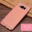 (025-1143)เคสมือถือ Case Samsung S8 Plus/ S8+ เคสนิ่ม TPU ขอบทองแววพื้นหลังลายหนัง thumbnail 6