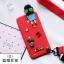 (723-001)เคสโทรศัพท์มือถือซัมซุง Samsung S4 เคสนิ่มตุ๊กตาหัวเกาะ Hang Rope thumbnail 2