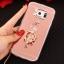 (025-1177)เคสมือถือซัมซุง Case Samsung S6 เคสนิ่มพื้นหลังแววกึ่งกระจก เลนส์กล้องขอบเพชร พร้อมแหวนเพชรตั้งโทรศัพท์และสายคล้องคอถอดแยกสายได้ thumbnail 8