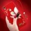 (026-009)เคสโทรศัพท์มือถือวีโว Vivo V3 เคสนิ่มขอบเพชรลายดอกไม้ thumbnail 1