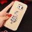 (025-1177)เคสมือถือซัมซุง Case Samsung S6 เคสนิ่มพื้นหลังแววกึ่งกระจก เลนส์กล้องขอบเพชร พร้อมแหวนเพชรตั้งโทรศัพท์และสายคล้องคอถอดแยกสายได้ thumbnail 22
