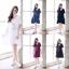 Life is Simple- V Neck Dress มี 5สี thumbnail 1