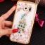 (025-1150)เคสมือถือซัมซุง Case Samsung S7 Edge เคสนิ่มซิลิโคนใสลายหรูประดับคริสตัล พร้อมแหวนเพชรมือถือตั้งโทรศัพท์ thumbnail 12