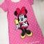 (เด็กโต) เดรสผ้ามินนี่เมาส์ (Minnie Mouse) ลายจุด สีชมพู ด้านหลังแต่งลูกไม้เก๋ๆ ผ้าใส่สบาย size 13-17 ( 8-15 ปี) thumbnail 1