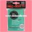 Ultra•Pro Pro-Matte Standard Deck Protector / Sleeve - Aqua 50ct. thumbnail 1
