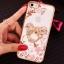 (025-1101)เคสมือถือไอโฟน case iphone 5/5s/SE เคสนิ่มซิลิโคนใสลายหรูติดคริสตัล พร้อมแหวนเพชรวางโทรศัพท์ thumbnail 9