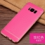 (025-1143)เคสมือถือ Case Samsung S8 Plus/ S8+ เคสนิ่ม TPU ขอบทองแววพื้นหลังลายหนัง thumbnail 5