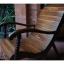 เก้าอี้โยกไม้มะค่า รหัส8261mw thumbnail 2