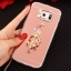 (025-1147)เคสมือถือซัมซุง Case Samsung S7 Edge เคสนิ่มพื้นหลังแววกึ่งกระจก เลนส์กล้องขอบเพชร พร้อมแหวนเพชรตั้งโทรศัพท์และสายคล้องคอถอดแยกสายได้ thumbnail 18