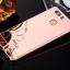 (025-1151)เคสมือถือ Case Huawei P9 เคสกรอบบัมเปอร์โลหะฝาหลังอะคริลิคแววกึ่งกระจก thumbnail 2