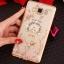 (025-1047)เคสมือถือซัมซุง Case Samsung Galaxy J5 2016 เคสนิ่มซิลิโคนใสลายหรูประดับคริสตัล พร้อมแหวนเพชรตั้งโทรศัพท์ thumbnail 13
