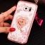 (025-1150)เคสมือถือซัมซุง Case Samsung S7 Edge เคสนิ่มซิลิโคนใสลายหรูประดับคริสตัล พร้อมแหวนเพชรมือถือตั้งโทรศัพท์ thumbnail 5