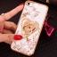 (025-1101)เคสมือถือไอโฟน case iphone 5/5s/SE เคสนิ่มซิลิโคนใสลายหรูติดคริสตัล พร้อมแหวนเพชรวางโทรศัพท์ thumbnail 11