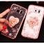 (025-1150)เคสมือถือซัมซุง Case Samsung S7 Edge เคสนิ่มซิลิโคนใสลายหรูประดับคริสตัล พร้อมแหวนเพชรมือถือตั้งโทรศัพท์ thumbnail 1