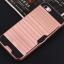 (025-1097)เคสมือถือไอโฟน case iphone 5/5s/SE เคสขอบนิ่ม tpu กันกระแทกแฟชั่นมีช่องเสียบบัตรด้านหลัง ลายเรียบ/ลายโลหะ thumbnail 12