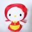 ตุ๊กตา Hello Kitty Fairy Tales-Little Red Riding Hood thumbnail 1
