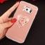 (025-1146)เคสมือถือซัมซุง Case Samsung Galaxy S7 เคสนิ่มพื้นหลังแววกึ่งกระจก เลนส์กล้องขอบเพชร พร้อมแหวนเพชรตั้งโทรศัพท์และสายคล้องคอถอดแยกสายได้ thumbnail 9