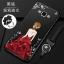 (587-012)เคสมือถือซัมซุง Case Samsung A7 เคสนิ่มแฟชั่นลายผู้หญิงขอบเพชร thumbnail 4