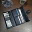 Classic Day Clutch Black Wallet กระเป๋าสตางค์ทรงยาวสีดำแบบเรียบหรู รับทรัพย์คนเกิดวันจันทร์ กระเป๋ายาวใส่มือถือได้ thumbnail 3