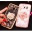 (025-1150)เคสมือถือซัมซุง Case Samsung S7 Edge เคสนิ่มซิลิโคนใสลายหรูประดับคริสตัล พร้อมแหวนเพชรมือถือตั้งโทรศัพท์ thumbnail 3