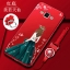 (587-012)เคสมือถือซัมซุง Case Samsung A7 เคสนิ่มแฟชั่นลายผู้หญิงขอบเพชร thumbnail 3